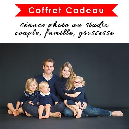 Les 2 Photographes : Coffret Cadeau séance photo au studio