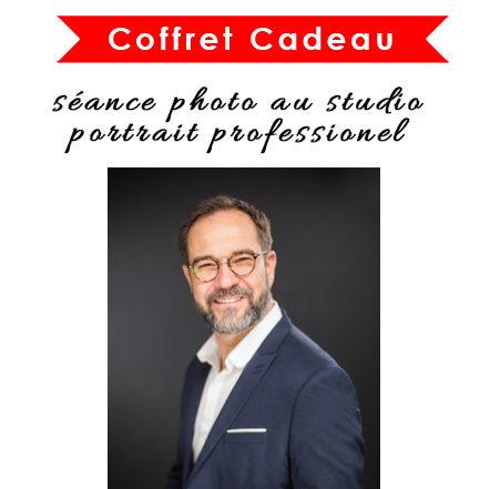 Les 2 Photographes : Coffret Cadeau séance photo portrait professionnel au studio