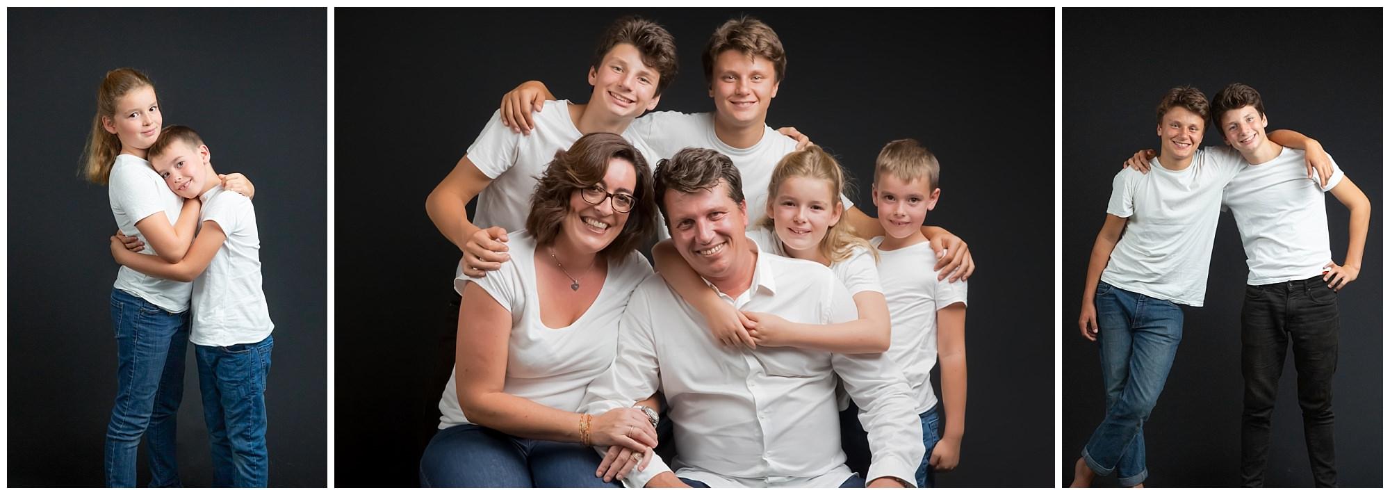 Séance famille chez les 2 photographes au Vésinet