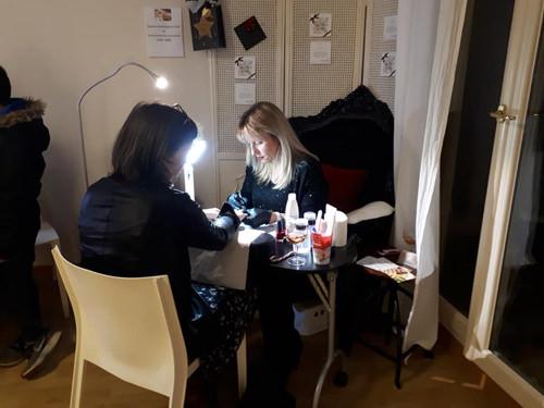 Afterwork les filles à l'ouest de Paris chez les 2 photographes