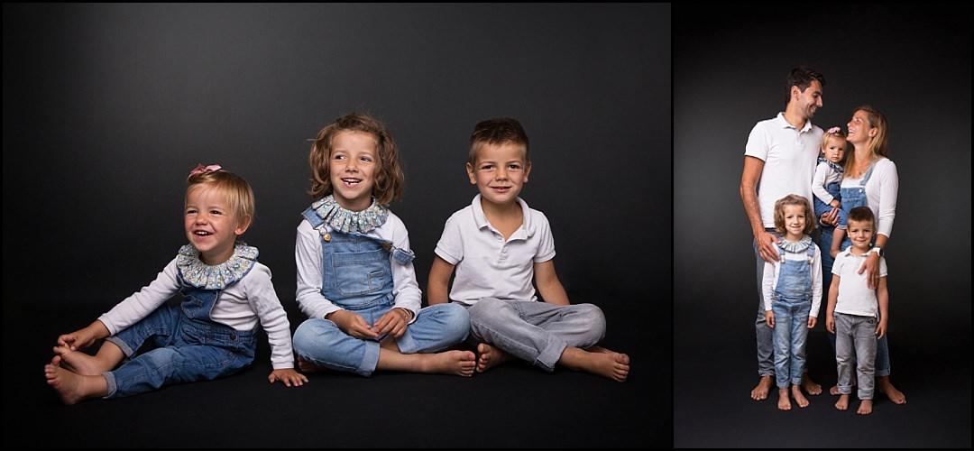 Séance photo famille chez les 2 photographes au Vésinet