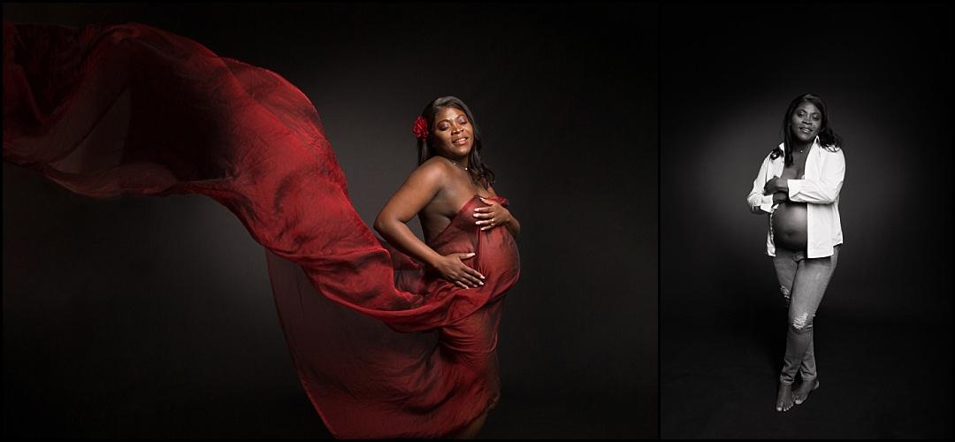 Séance photo grossesse au Vésinet